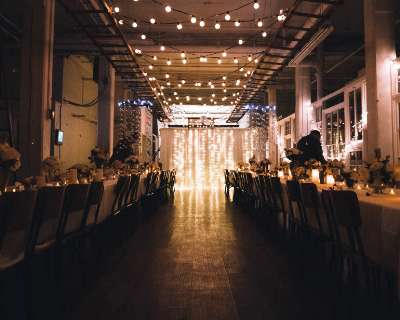 Mariage style industriel